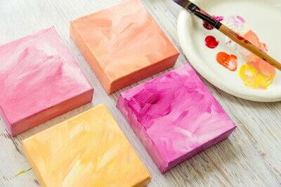 How to paint a landscape. Infinite Blues - Step 2