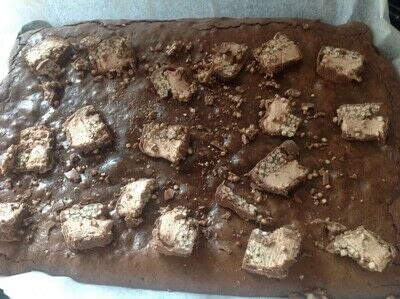 How to bake a brownie. Double Decker Brownies  - Step 7