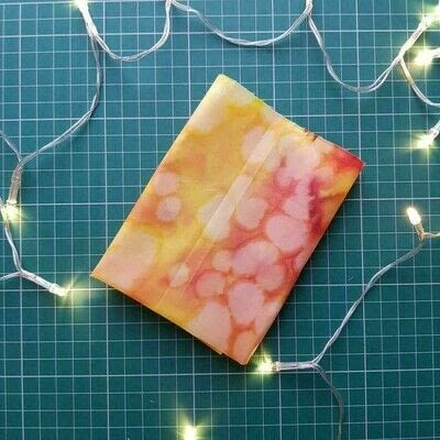 How to make a storage unit. Fat Quarter Waxed Food Wrap - Step 4