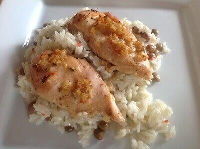 How to cook a chicken dish. Jerk Chicken  - Step 4