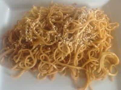 How to cook noodles. Garlic Noodles  - Step 5