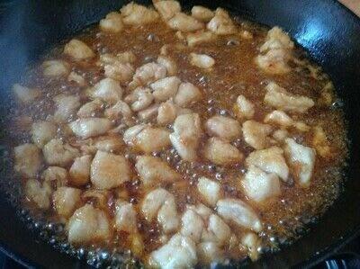 How to cook a chicken dish. Firecracker Chicken - Step 3