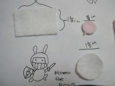 How to make a gadget plushie. Sweet Ipod Plushies - Step 3