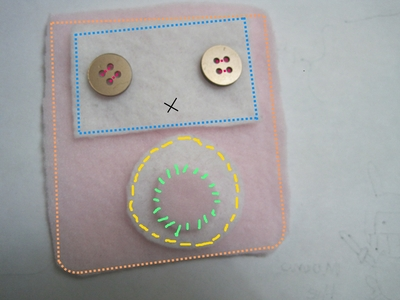 How to make a gadget plushie. Sweet Ipod Plushies - Step 5