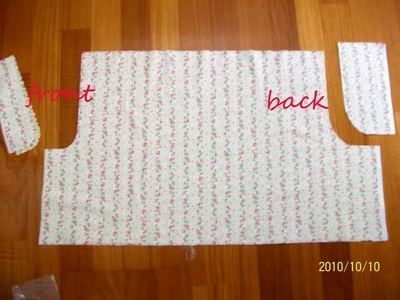 How to sew a pair of bloomers. Simple Bloomers - Step 3