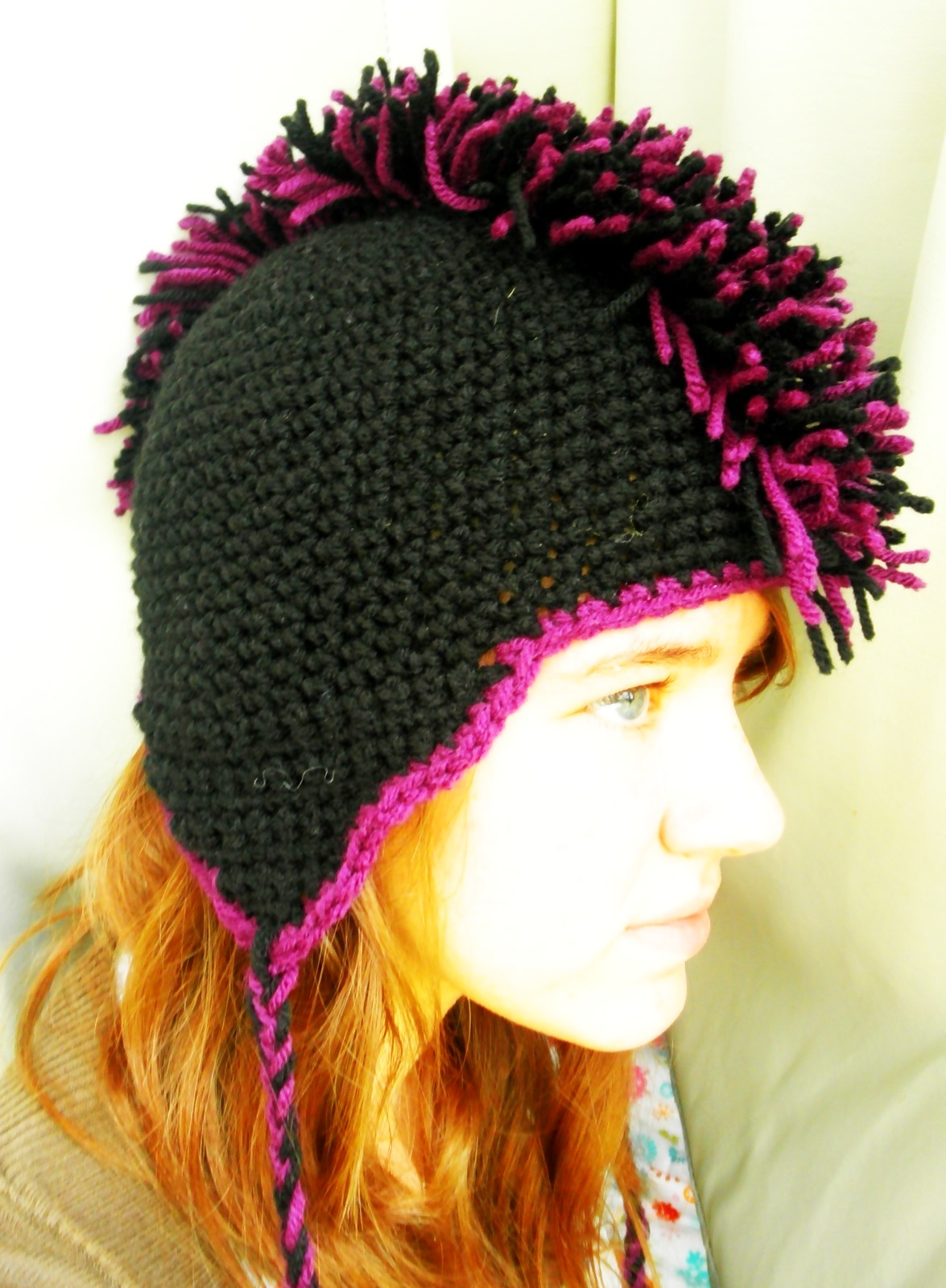 Crochet mohawk hat a mohawk hat crochet on cut out keep crochet mohawk hat a mohawk hat crochet on cut out keep creation by robin s bankloansurffo Gallery