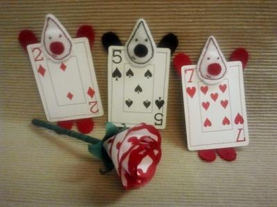 How to make a plushies & friends. Wonderland Card Gaurd - Step 3