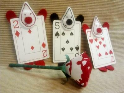 How to make a plushies & friends. Wonderland Card Gaurd - Step 5
