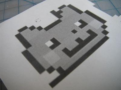 How to make a fabric animal charm. Nyan Cat Phone Charm  - Step 1