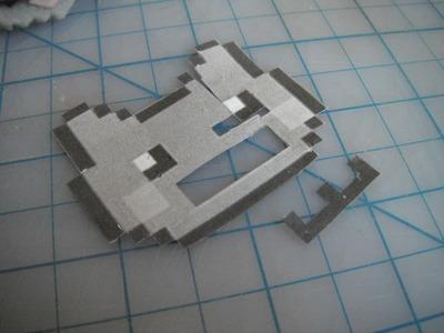 How to make a fabric animal charm. Nyan Cat Phone Charm  - Step 2