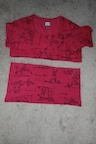 How to recycle a sweater into a dress. Upcycled Dress From Mom's Sweater And Kids Tee - Step 3