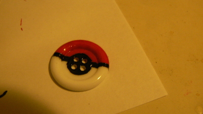How to make a button ring. Pokébutton Ring - Step 5