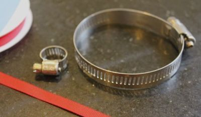 How to make a metal cuff. Diy Home Depot Bracelet - Step 1