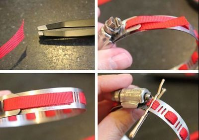 How to make a metal cuff. Diy Home Depot Bracelet - Step 3