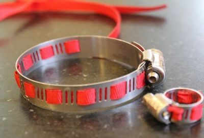 How to make a metal cuff. Diy Home Depot Bracelet - Step 4