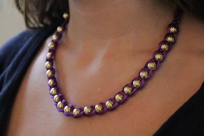 How to braid a braided bead bracelet. Embellished Wrap Bracelets - Step 5