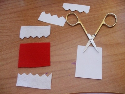 How to sew a fabric character pouch. Domo Kun Pouch - Step 3