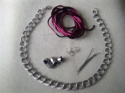 How to make a tassel necklace. Tassel Necklace - Step 1