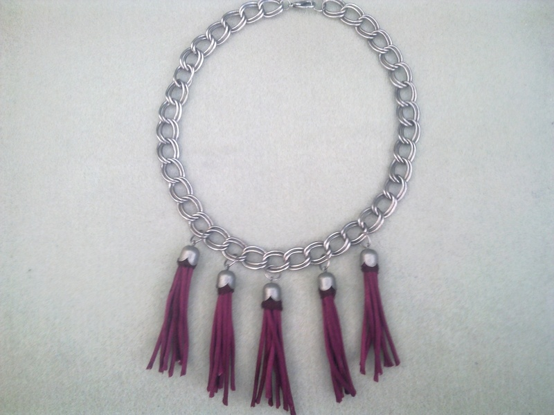 how to make a tassel for a necklace