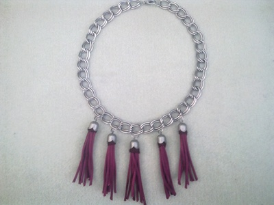 How to make a tassel necklace. Tassel Necklace - Step 4