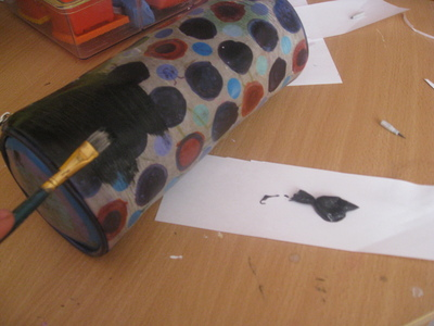 How to make a pouch, purse or wallet. Pacman Pencilcase ^^ Wakawaka# - Step 1