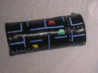 How to make a pouch, purse or wallet. Pacman Pencilcase ^^ Wakawaka# - Step 8