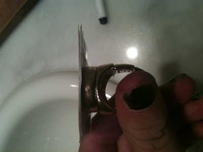How to make a duct tape ring. Piano Ring - Step 3