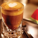 How to make a coffee. Latte Art - Step 4