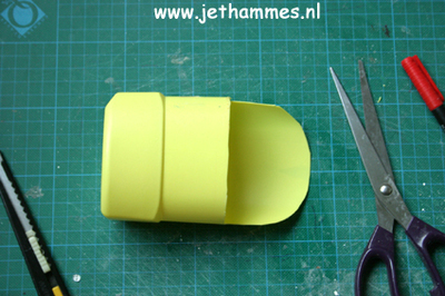 How to make an embellished pouch. Mini Pouch Of A Bleachbottle - Step 6