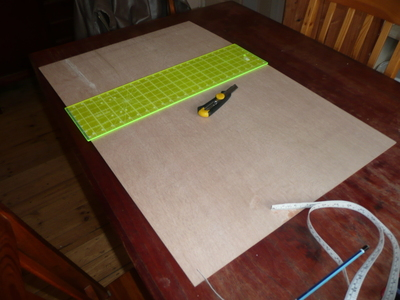 How to make a picture board. Photo Board - Step 1