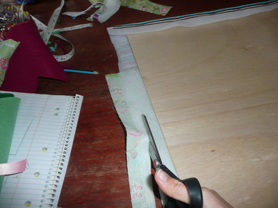 How to make a picture board. Photo Board - Step 16
