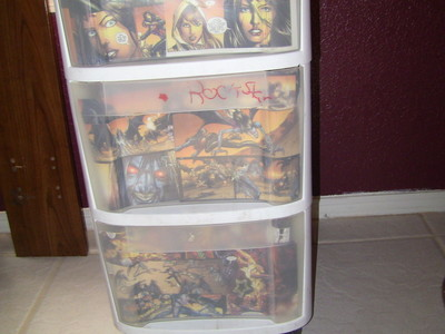 How to make a drawer. Comic Drawers  - Step 4