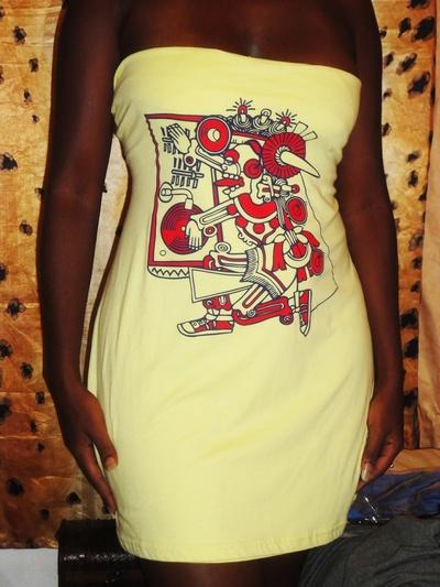 How to sew a t-shirt dress. T Shit Dress  - Step 10