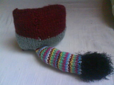 How to make a fox plushie. Knit A Fox - Step 3