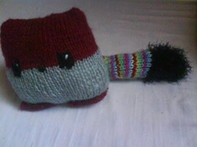How to make a fox plushie. Knit A Fox - Step 4