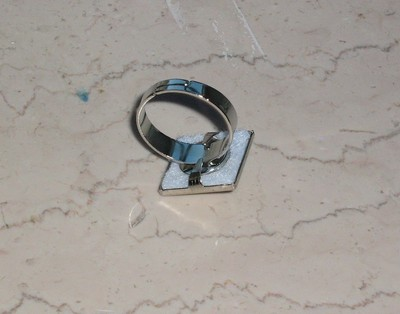 How to make a ring. Studded Ring - Step 2
