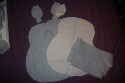 How to make a bear plushie. Totoro Pillow Plushy  - Step 1
