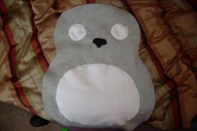 How to make a bear plushie. Totoro Pillow Plushy  - Step 2