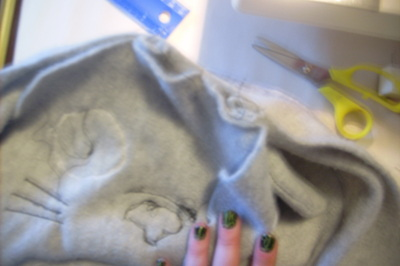 How to make a bear plushie. Totoro Pillow Plushy  - Step 5