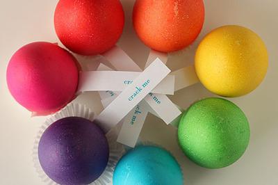 How to make a decorative egg. Surprising Eggs. - Step 6