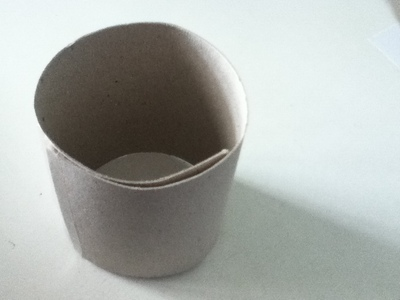 How to make a paper model. Paper Teacup ♥ - Step 1