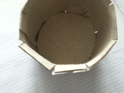 How to make a paper model. Paper Teacup ♥ - Step 5