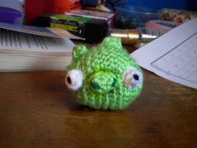 How to make a pig plushie. Angry Birds Crochet Pig Plushie - Step 7