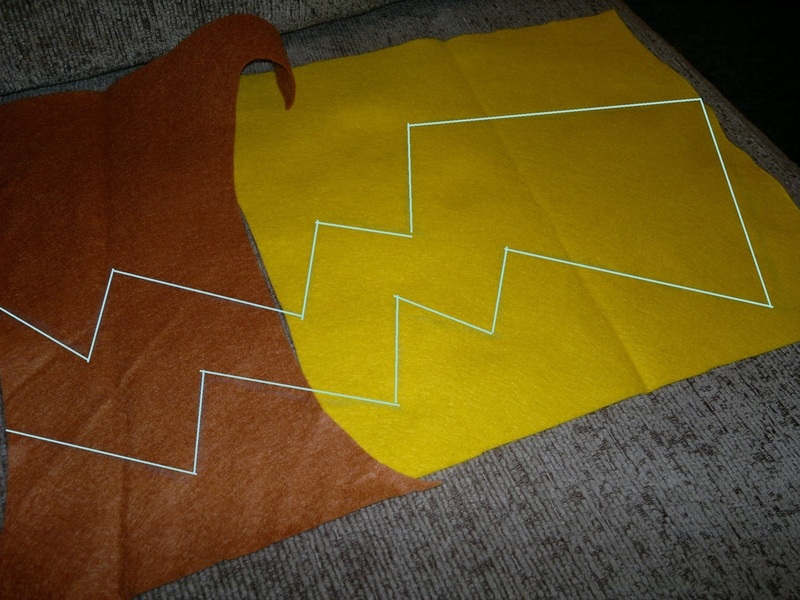 Pikachu Tail Template | Pikachu Hoody How To Make A Hoodie Decorating Needlework And