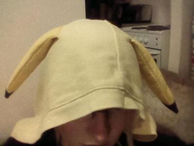 How to make a hoodie. Pikachu Hoody - Step 13