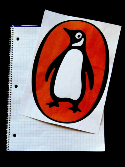How to make a book cover. Knitted Penguin Books Book/Nook/Kindle Cover - Step 1