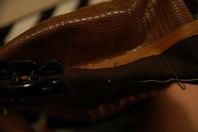 How to make a handbag. Diy Kate Spade Owl Purse, Version 2 - Step 3