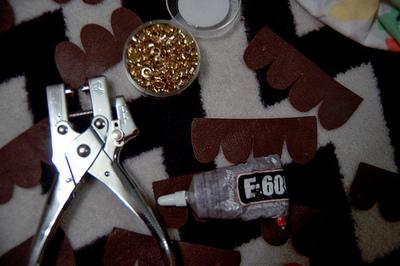How to make a handbag. Diy Kate Spade Owl Purse, Version 2 - Step 4