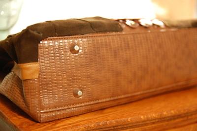 How to make a handbag. Diy Kate Spade Owl Purse, Version 2 - Step 10