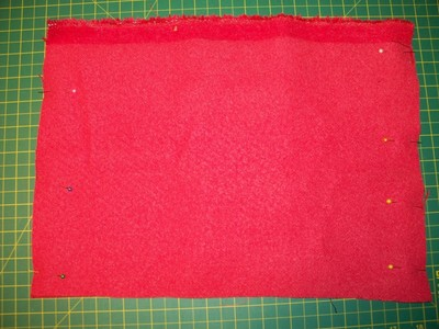 How to sew a leather tote. Anthropologie Inspired Tote - Step 3